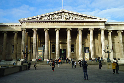 Photograph of the British Museum