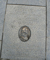 Adam Smith paving slab