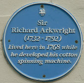 Arkwright Plaque