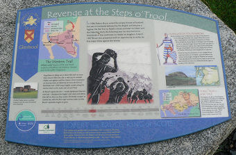Glentrool information board