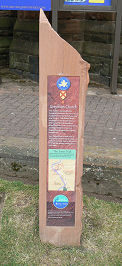 Waymarker for Robert the Bruce