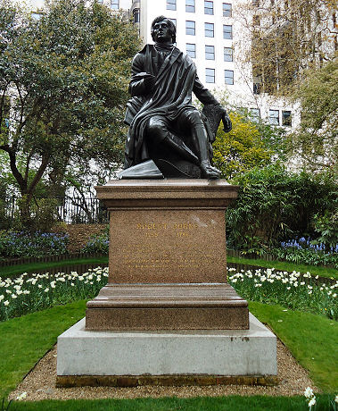 Burns Statue, London
