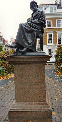 Carlyle Statue