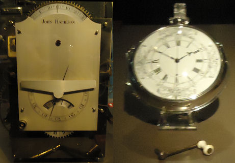 Harrison's clocks