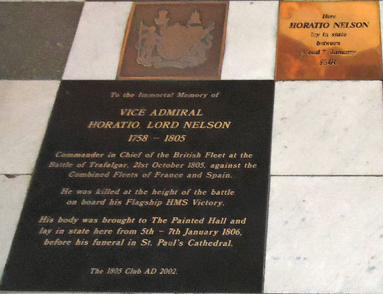 Nelson's Coffin Marker