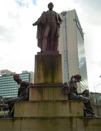 Statue of Robert Peel, Manchester