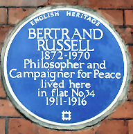 Bertrand Russell Plaque
