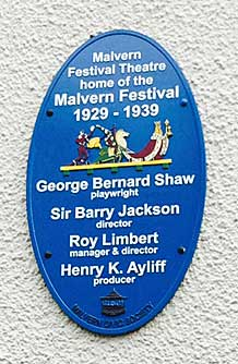 George Bernard Shaw Plaque