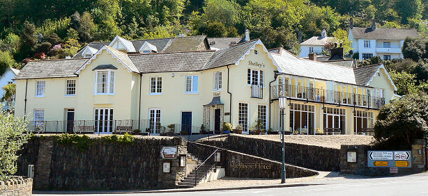 Shelley Hotel, Lynmouth