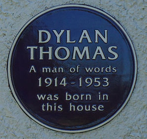 Dylan Thomas Plaque
