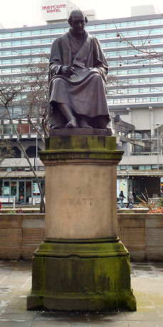 Statue of James Watt