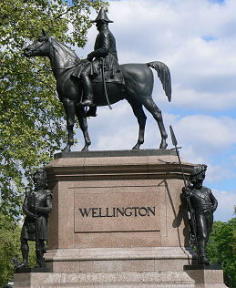 Statue of Duke of Wellington