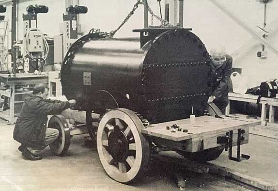 Trevithick Road Locomotive Replica