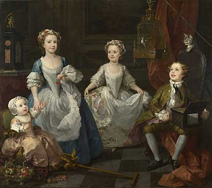 The Graham Children. 1742. National Gallery, London