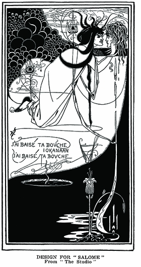 Illustration for Wilde's Salome.