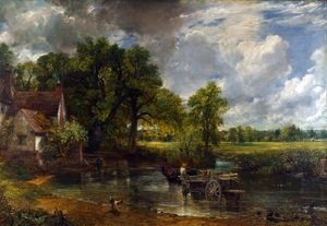 The Hay Wain. 1821. (National Gallery, London)