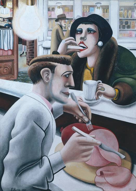 The Snack Bar. 1930. (Tate Gallery)